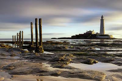 Photograph - St Marys Lighthouse by David Pringle