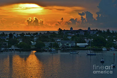 Photograph - 25- Sunrise Over Singer Island by Joseph Keane