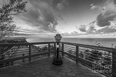 Benzie Photograph - The Arcadia Overlook by Twenty Two North Photography