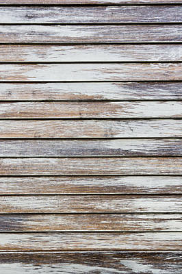 Wood Background Art Print by Tom Gowanlock