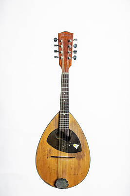 Photograph - 25.1845 Framus Mandolin by M K  Miller