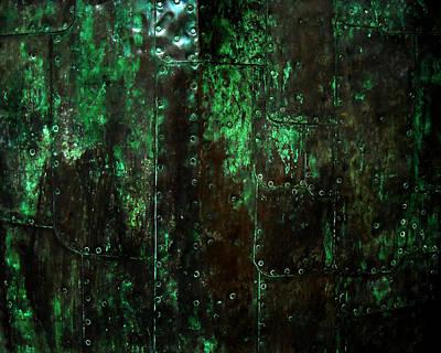 2525 Ad Copper Wall 01 Print by Nilla Haluska