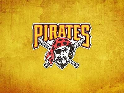 25554 Sports Pittsburgh Pirates  Art Print