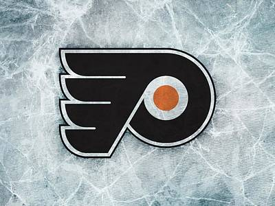 Philadelphia Flyers Digital Art - 25601 Sports Nhl Philadelphia Flyers  by Anne Pool