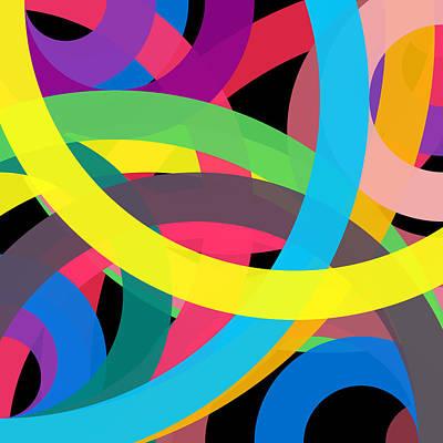 Drawing - 2584 - Phi Word Circle by REVAD David Riley
