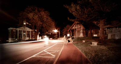 Long Street Digital Art - 25a East Bound by Michael Simeone