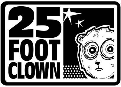 Drawing - 25footclown Logo Version 2 by Christopher Capozzi