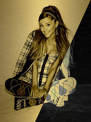 Pop Art Mixed Media - Ariana Grande Collection by Marvin Blaine