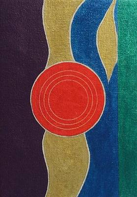Painting - Circle Group by Hang Ho