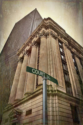 Photograph - 26 Court Street - Boston Architecture by Joann Vitali