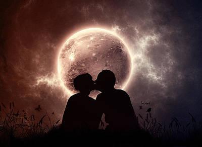 Love Digital Art - Love by Super Lovely