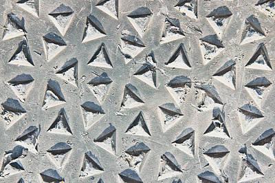 Metal Background Art Print by Tom Gowanlock