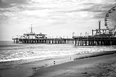 Photograph - Santa Monica Pier Collection- 32/36 by Gene Parks