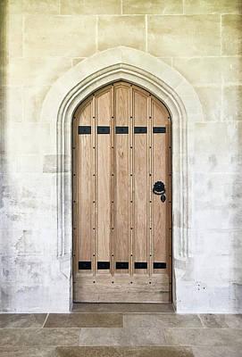Wooden Door Print by Tom Gowanlock