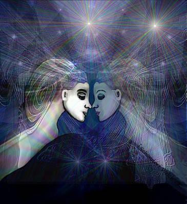Digital Art - 2660   Dream Voyage 2017 A by Irmgard Schoendorf Welch