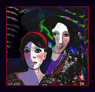 Digital Art - 2661 Time Of The Medici by Irmgard Schoendorf Welch