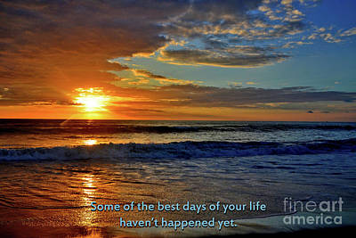 Photograph - 268- Best Days Of Your Life by Joseph Keane
