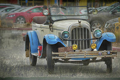 Photograph - 27 Chrysler Rhd Touring by Bill Dutting
