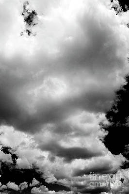 Photograph - Cumulus Clouds  by Jim Corwin