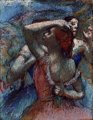 Ballet Painting - Dancers by Edgar Degas