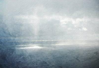 Bob Ross Painting - Nature Work Landscape by Margaret J Rocha