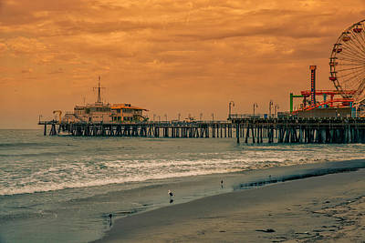 Photograph - Santa Monica Pier Collection- 34/36 by Gene Parks