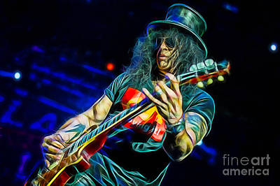 Slash Collection Art Print by Marvin Blaine