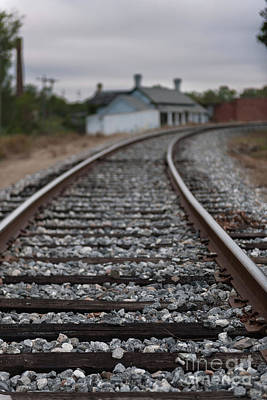 Photograph - Upstate Train Tracks by Dale Powell