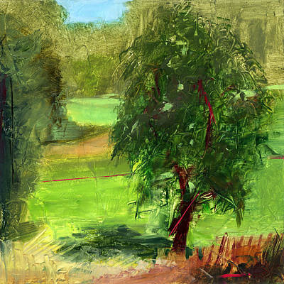 Golf Course Painting - Rcnpaintings.com by Chris N Rohrbach