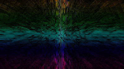 Abstract Digital Art - Abstract by Super Lovely