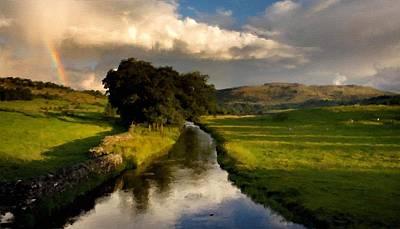 Twilight Digital Art - B Y Landscape by Victoria Landscapes