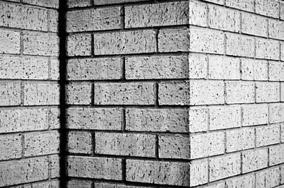 Brick Building Photograph - Brick Wall by Tom Gowanlock