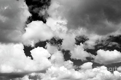 Photograph - Cumulus Clouds  by Jim Corwin