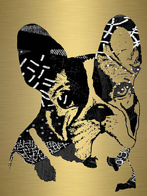 French Bulldog Collection Art Print