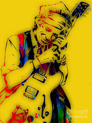 Rock And Roll Mixed Media - Keith Richards Collection by Marvin Blaine