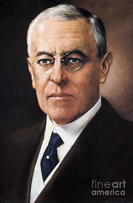 Woodrow Wilson (1856-1924) Art Print by Granger