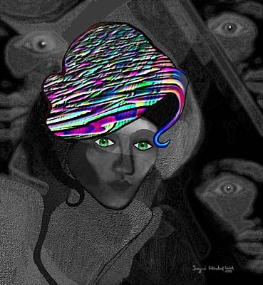 284 - Annas  Hat Art Print
