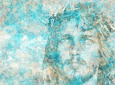 Passion Digital Art - Jesus Christ - Religious Art by Elena Kosvincheva