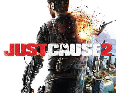 28749 Just Cause Just Cause 2 Art Print by F S