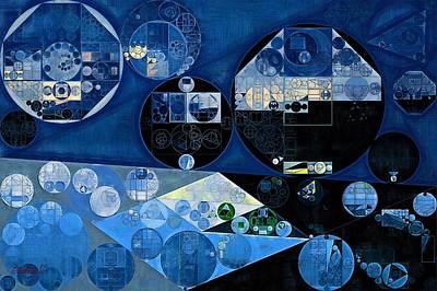 Ornamental Digital Art - Abstract Painting - Onyx by Vitaliy Gladkiy