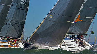 Photograph - Rolex Big Boat Series Returns by Steven Lapkin