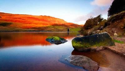 Outdoors Digital Art - Beautiful Landscape by Victoria Landscapes