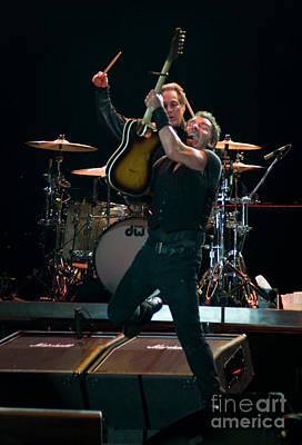 Bruce Springsteen Photograph - Bruce Springsteen At Bonnaroo by David Oppenheimer