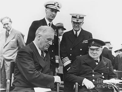 Prince Harry Photograph - Franklin Delano Roosevelt by Granger
