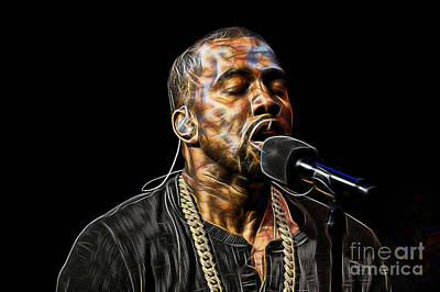 Kanye Mixed Media - Kanye West Collection by Marvin Blaine