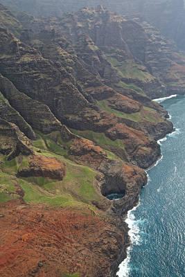 Photograph - Kauai Shoreline by Steven Lapkin