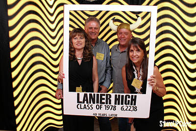 Photograph - Lanier High School 40th Reunion  by Andrew Nourse