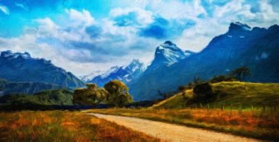For Sale Painting - Nature Landscapes Prints by Margaret J Rocha