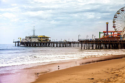 Photograph - Santa Monica Pier Collection-33/36 by Gene Parks