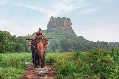 Photograph - Sigiriya - Sri Lanka by Joana Kruse